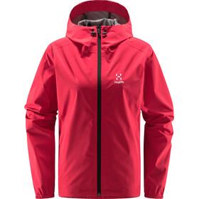 Haglöfs Buteo Jacket Women scarlet red